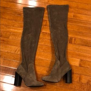 Like new Steve Madden thigh high boots